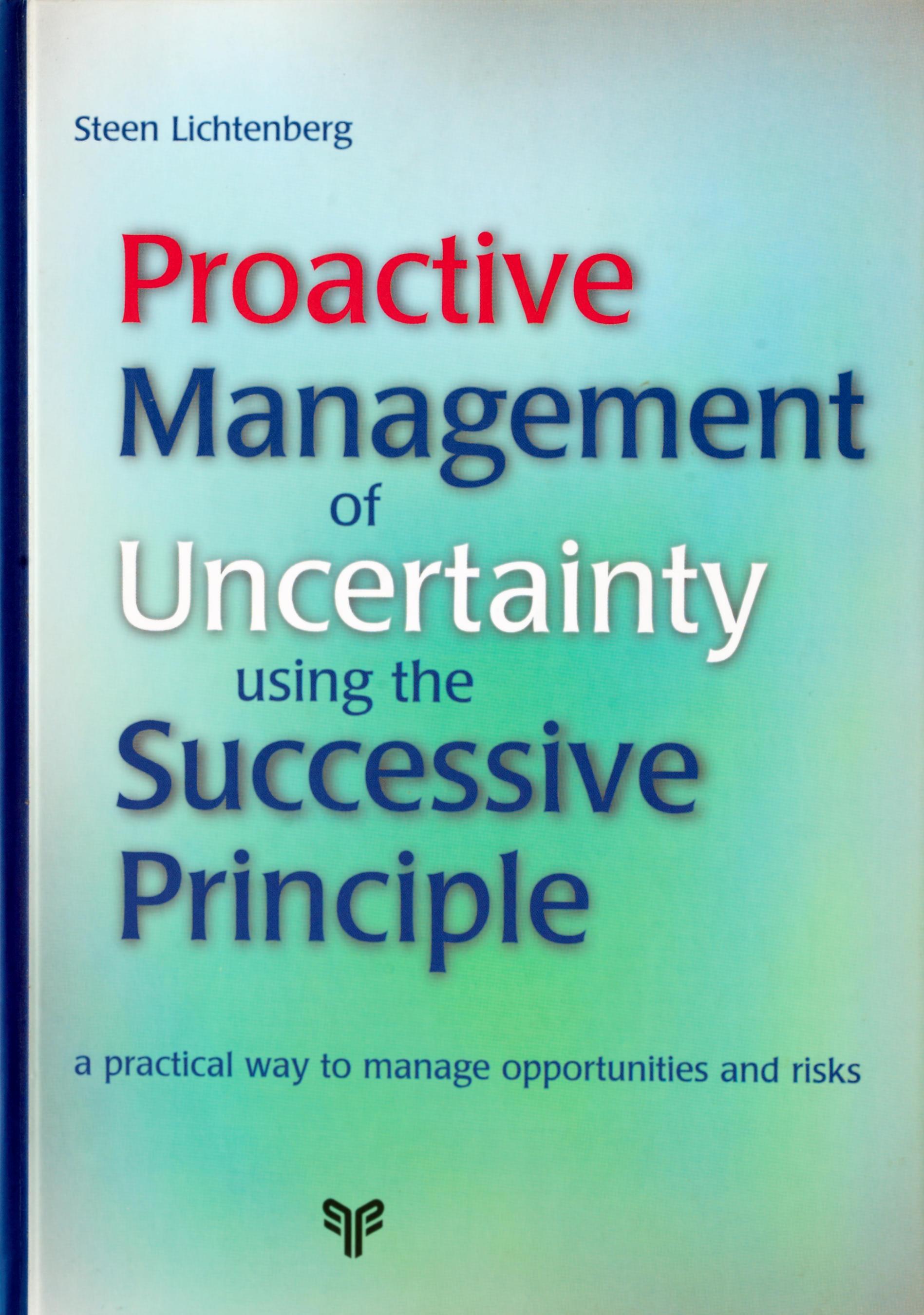 handbook on proactive management of uncertainty